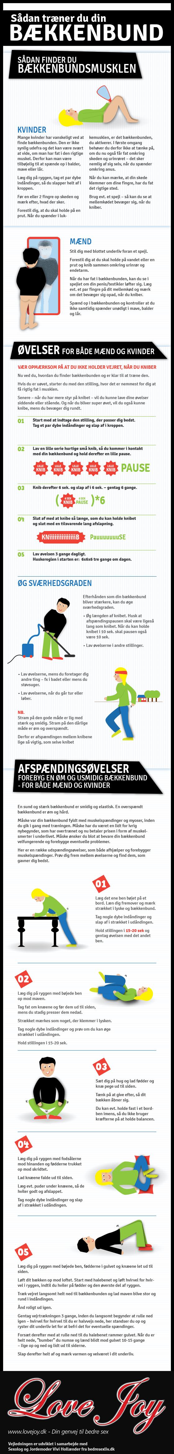 Bækkenbund infografik